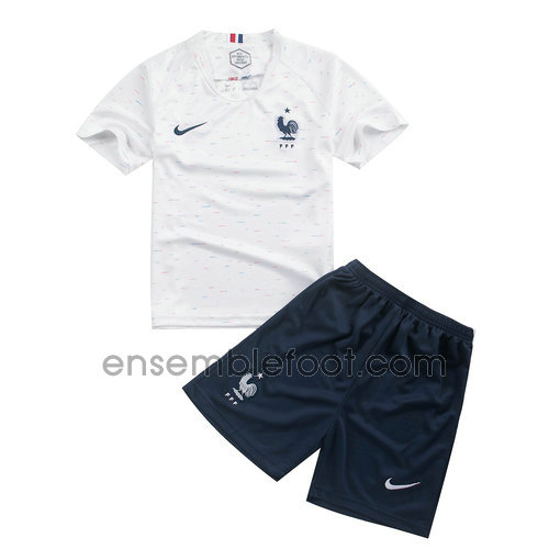 maillot ensemble enfant france 2018 exterieur
