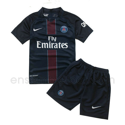 ensemble paris saint germain ensemble paris saint germain maillot ensemble de foot enfant psg. Black Bedroom Furniture Sets. Home Design Ideas