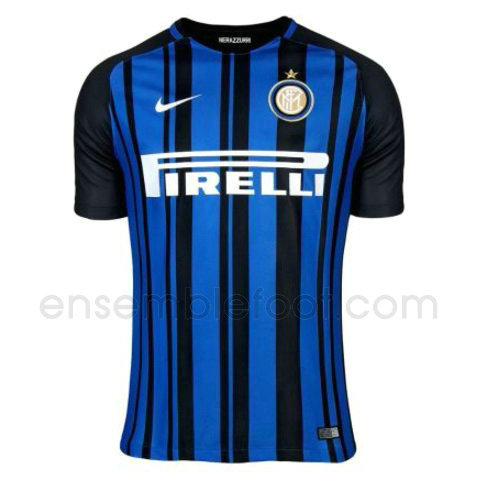 ensemble maillot inter milan 2017-2018 domicile