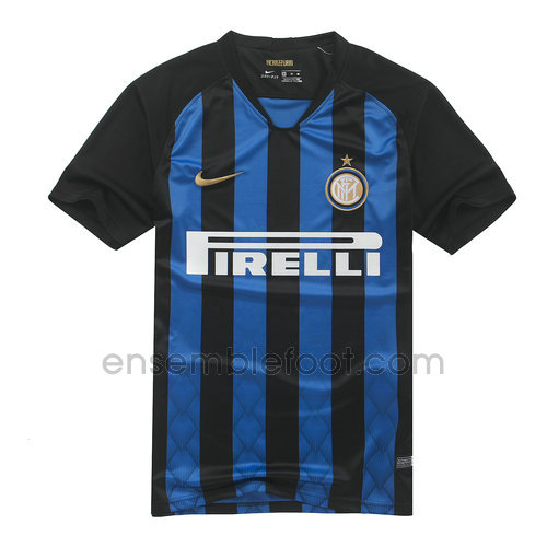 ensemble maillot inter milan 2018-2019 domicile