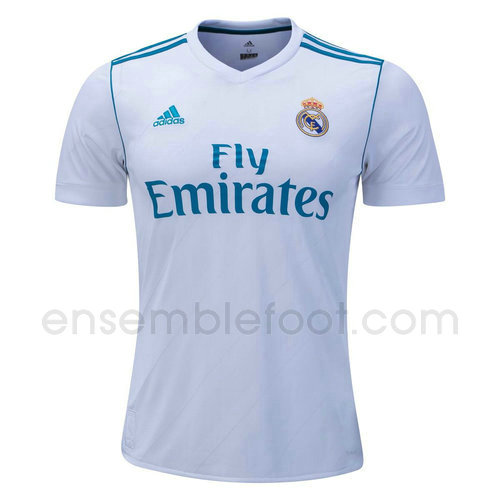 ensemble maillot real madrid 2017-2018 domicile
