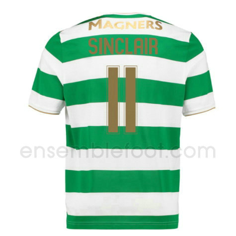 ensemble maillot sinclair 11 celtic 2017-2018 domicile