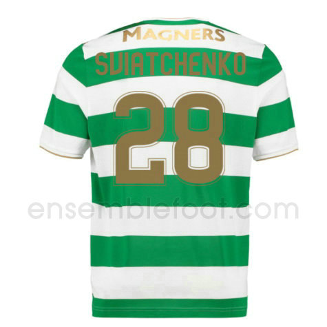 ensemble maillot sviatchenko 28 celtic 2017-2018 domicile
