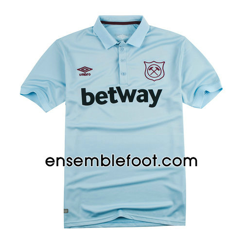 ensemble maillot west ham united 2017-2018 troisieme