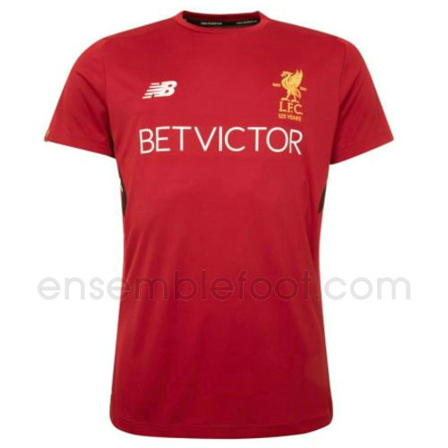 maillots entrainement hommes liverpool 2017-2018 rouge