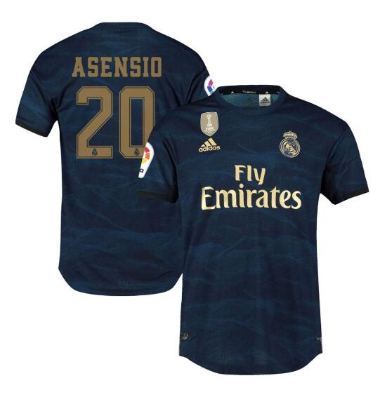 ensemble maillot asensio real madrid 2020 exterieur