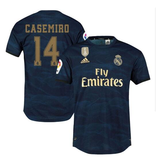 ensemble maillot carlos casemiro real madrid 2020 exterieur