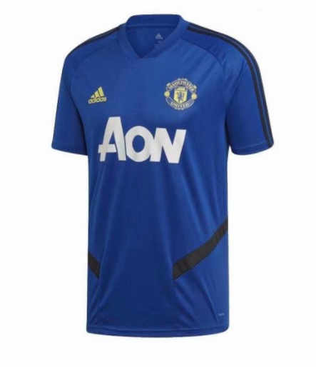 maillot manchester united 2020 formation bleu