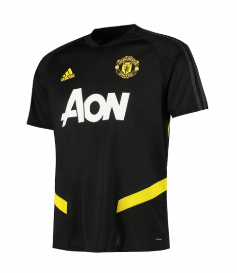 maillot manchester united 2020 formation noir