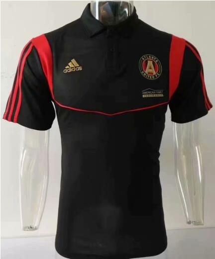 maillot polo homme Atlanta United 2019-2020 noir