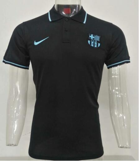 maillot polo homme Barcelone 2019-2020 noir