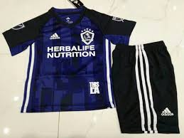 maillot enfant Los Angeles Galaxy 2019-2020 exterieur