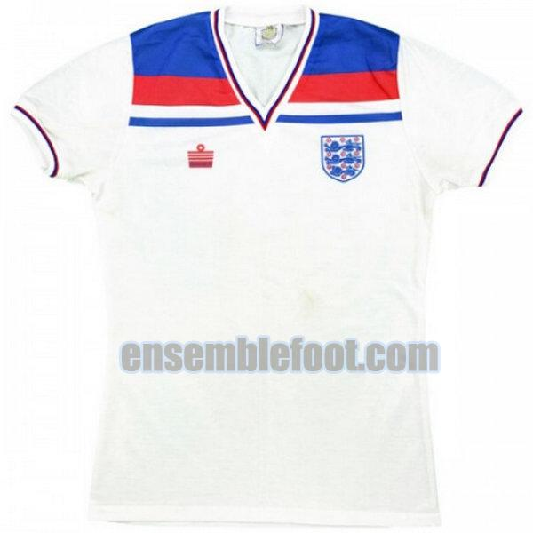 maillots angleterre 1980 domicile