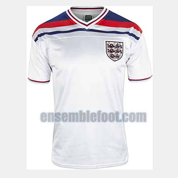 maillots angleterre 1982 domicile
