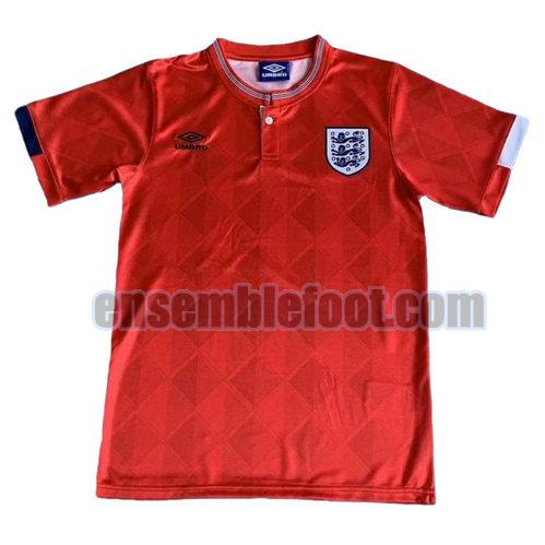 maillots angleterre 1989 thaïlande exterieur