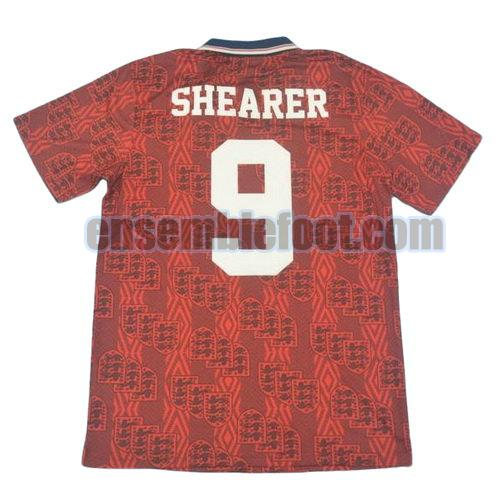 maillots angleterre 1994 thaïlande exterieur shearer 9