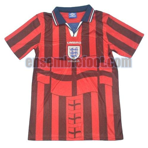maillots angleterre 1998 thaïlande exterieur