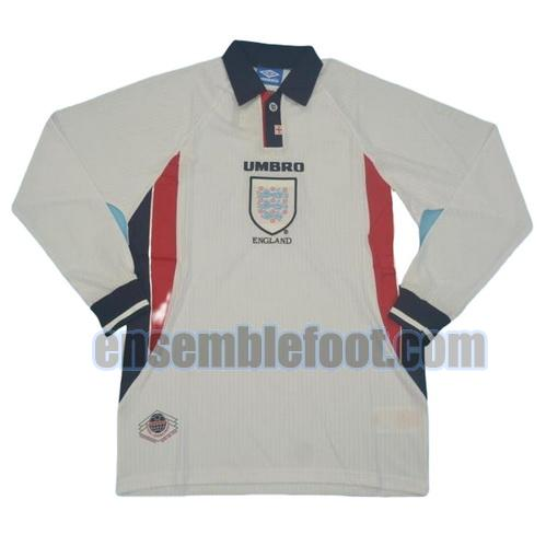 maillots angleterre 1998 thaïlande manches longues domicile