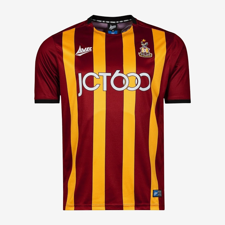 officielle maillot Bradford City 2019-2020 domicile