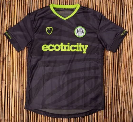 officielle maillot Forest Green Rovers 2019-2020 exterieur