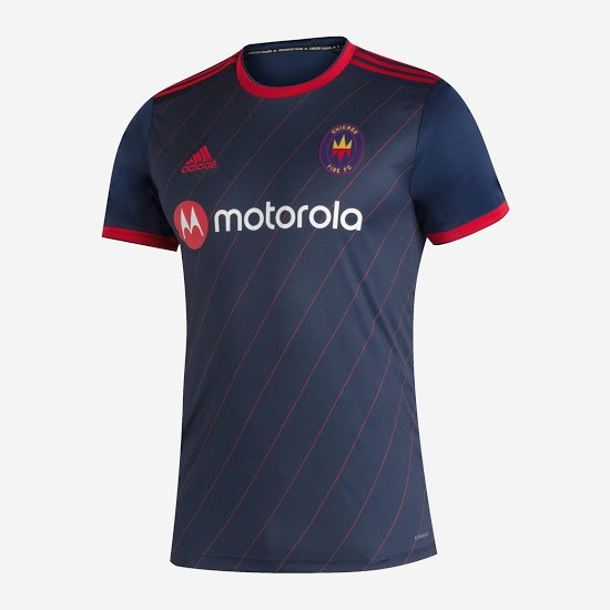 officielle maillot chicago fire 2020-21 domicile