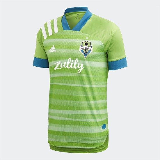 officielle maillot seattle sounders 2020-21 domicile