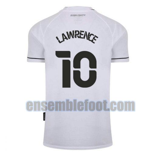 maillots derby county 2020-2021 domicile lawrence 10