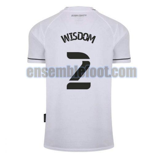 maillots derby county 2020-2021 domicile wisdom 2