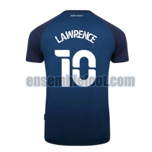 maillots derby county 2020-2021 exterieur lawrence 10