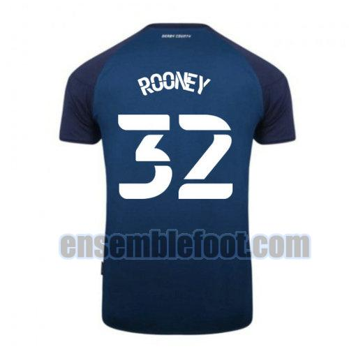 maillots derby county 2020-2021 exterieur rooney 32