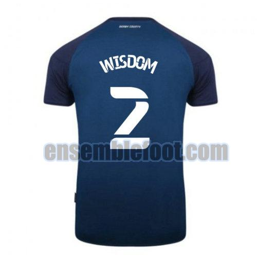 maillots derby county 2020-2021 exterieur wisdom 2