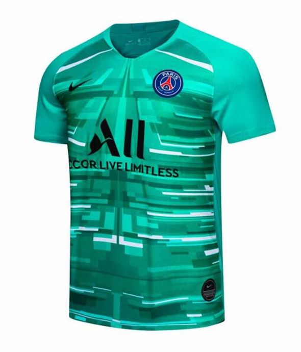 ensemble maillot paris saint germain Vert 2019-2020 gardien