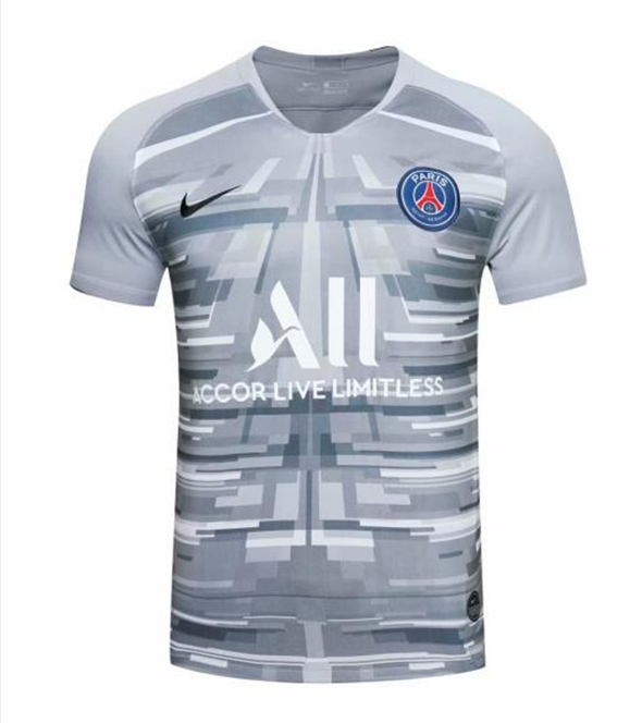 ensemble maillot paris saint germain 2019-2020 gardien Gris