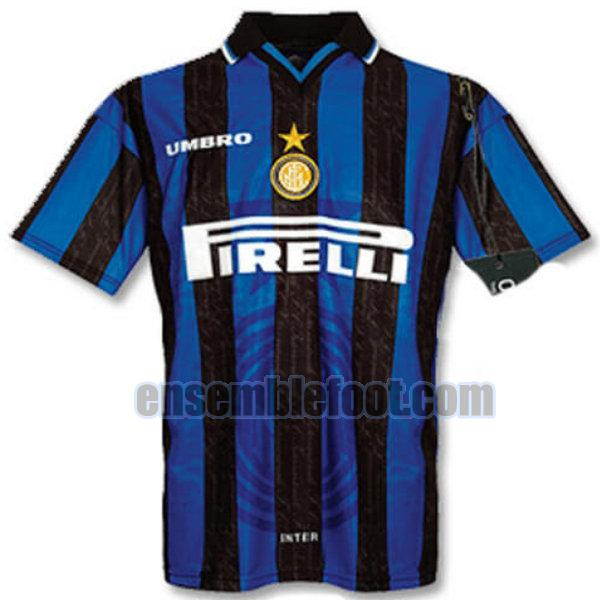 maillots inter milan 1997-1998 domicile