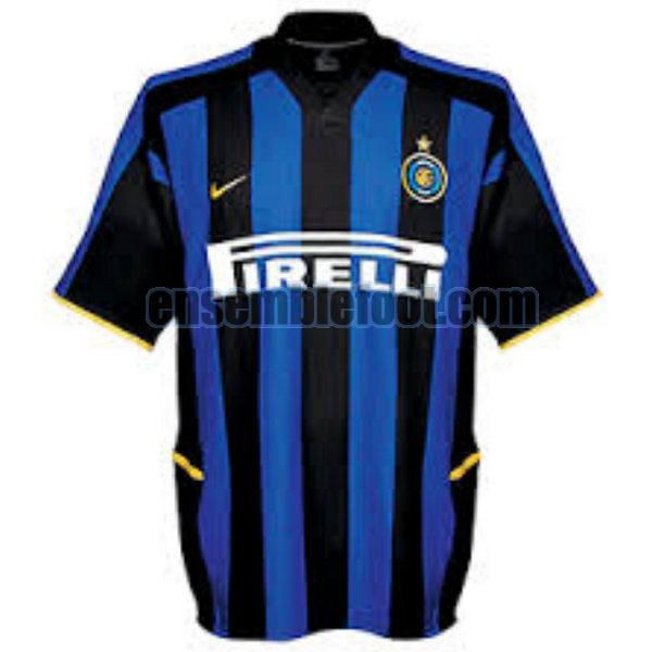 maillots inter milan 2002-2003 domicile