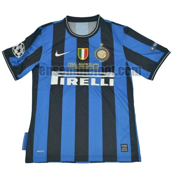 maillots inter milan 2010-2011 domicile