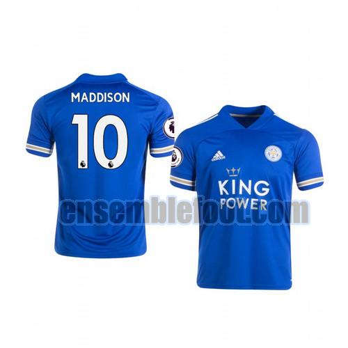 maillots leicester city 2020-2021 domicile james maddison 10
