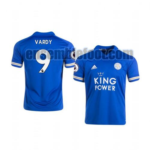 maillots leicester city 2020-2021 domicile jamie vardy 9