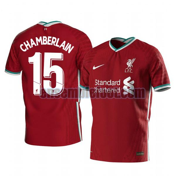 maillots liverpool 2020-2021 domicile alex oxlade chamberlain 15