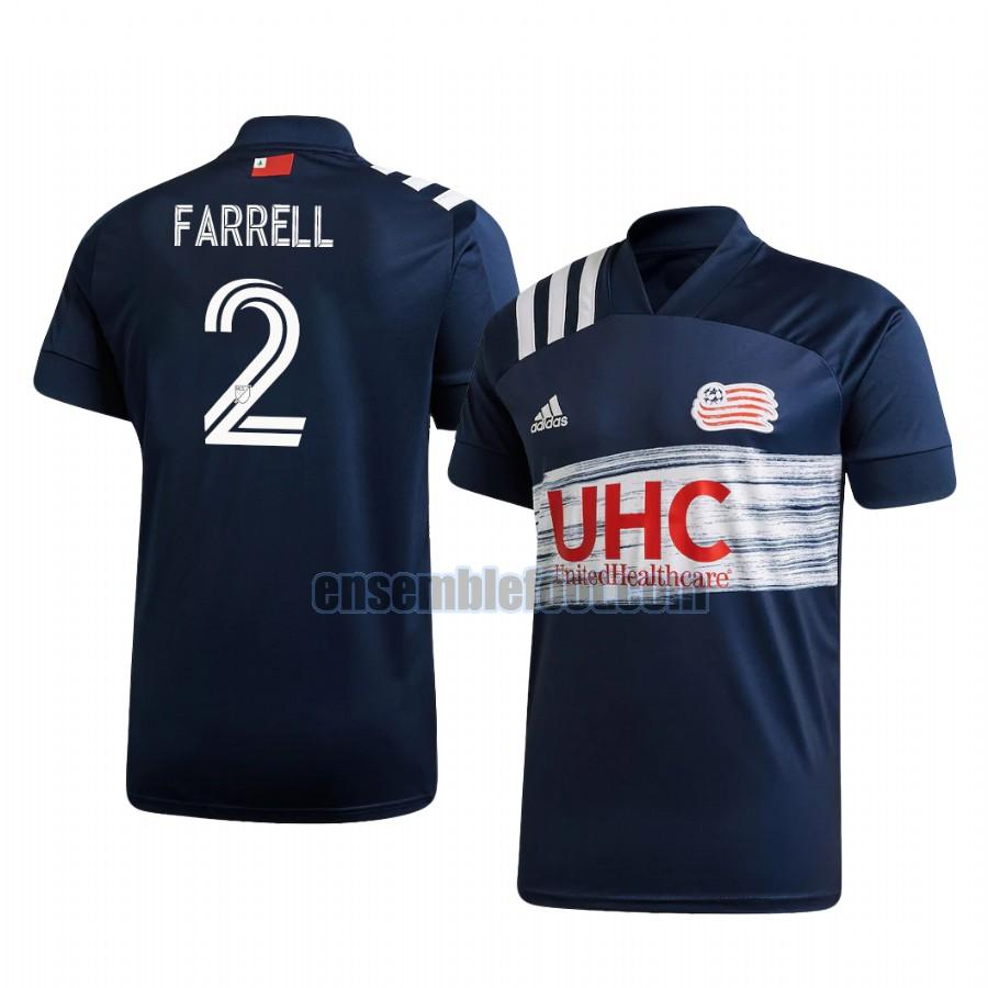 maillots new england revolution 2020-2021 domicile andrew farrell 2
