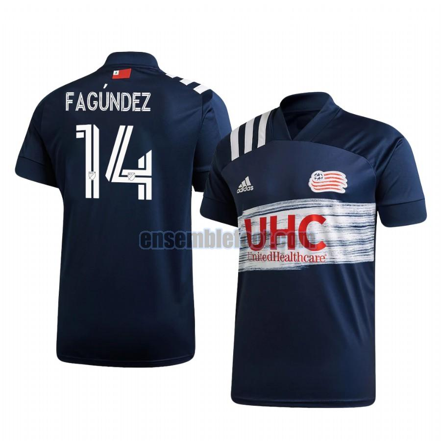 maillots new england revolution 2020-2021 domicile diego fagundez 14