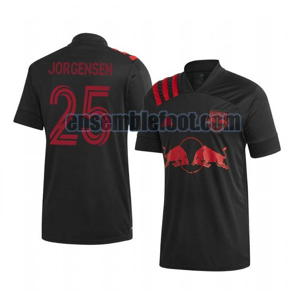 maillots new york red bulls 2020-2021 exterieur mathias jorgensen 25