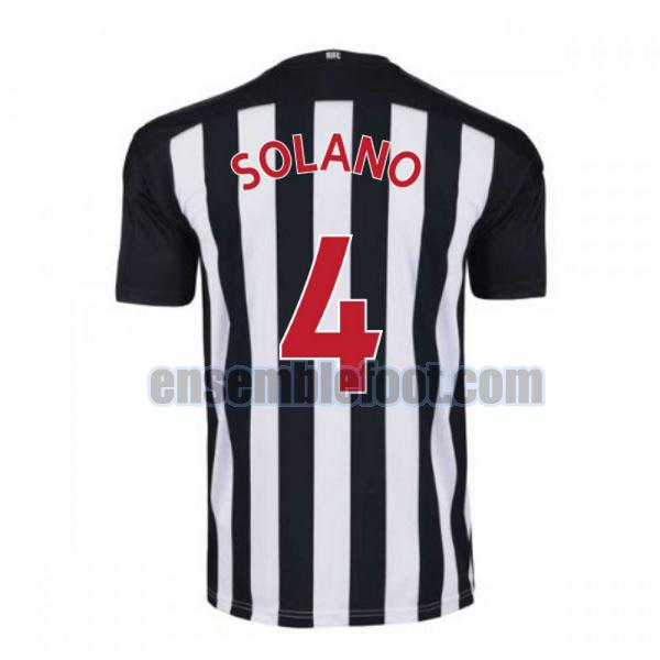 maillots newcastle united 2020-2021 domicile solano 4