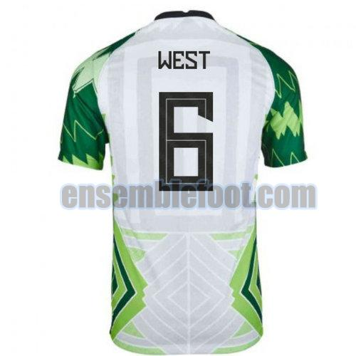 maillots nigeria 2020-2021 domicile west 6