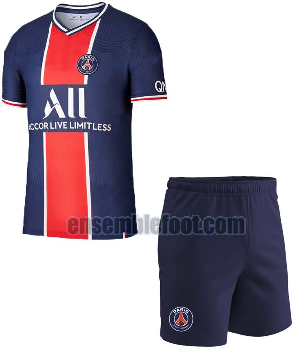 maillots paris saint germain 2020-2021 enfants domicile