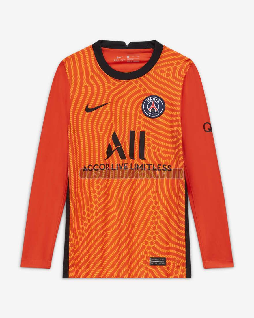 maillots paris saint germain 2020-2021 ensemble manches longues priemra gardien