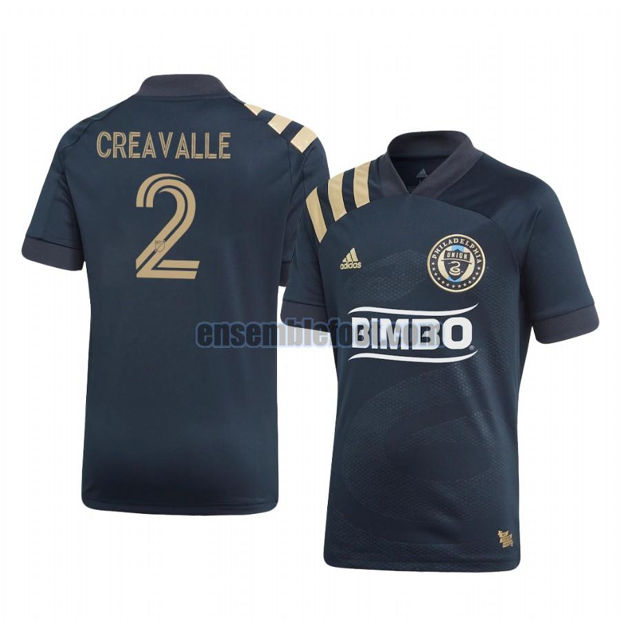 maillots philadelphia union 2020-2021 domicile warren creavalle 2