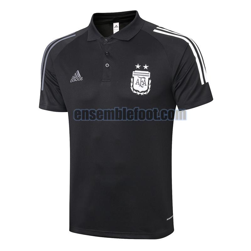 maillots polo argentine 2020-2021 noir