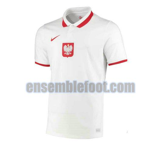 maillots pologne 2020-2021 domicile