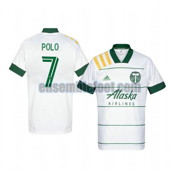maillots portland timbers 2020-2021 exterieur andy polo 7